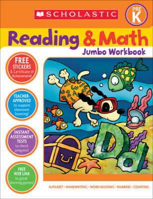 Reading and Math Jumbo Workbook Grade 2 by Cathy Collins