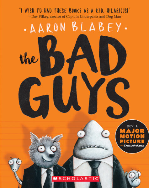 The Best Chapter Books for 1st Graders featured by top Seattle lifestyle blogger, Marcie in Mommyland: The Bad Guys
