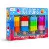 Icy Pops Fruit-Scented Puzzle Erasers