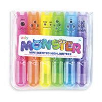 Monster Mini Scented Highlighters (Set of 6)
