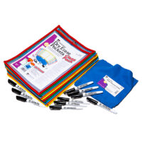 Dry-Erase Pocket Classroom Kit