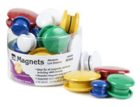 Colorful Button Magnets