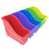 Small Book Bins with Caddy