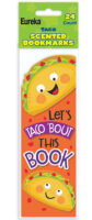 Taco-Scented Bookmarks