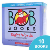 Bob Books®: Sight Words Kindergarten Box Set