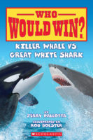 Who Would Win?® Killer Whale vs. Great White Shark