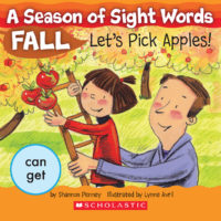 A Season of Sight Words Fall: Let's Pick Apples!