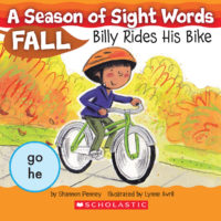 A Season of Sight Words Fall: Billy Rides His Bike