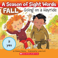 A Season of Sight Words Fall: Going on a Hayride