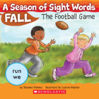 A Season of Sight Words Fall: The Football Game