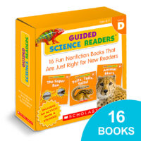 Guided Science Readers™ Box Set: Level D