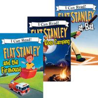 Flat Stanley Reader 3-Pack