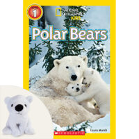 "National Geographic Kids™: Polar Bears Plus 7"" Plush"
