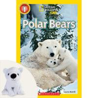 "National Geographic Kids™: Polar Bears Plus 7"" Plush"
