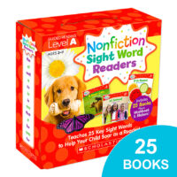 Nonfiction Sight Word Readers Pack: Level A