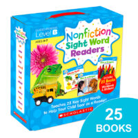 Nonfiction Sight Word Readers Pack: Level B