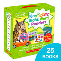 Nonfiction Sight Word Readers Pack: Level C