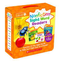 Nonfiction Sight Word Readers Pack: Level D