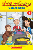 Curious George® Colors Eggs