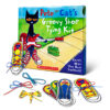 Pete the Cat's Groovy Shoe Tying Kit
