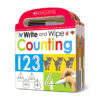 Scholastic Early Learners: Write and Wipe: Counting