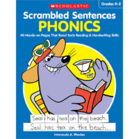 Scrambled Sentences: Phonics