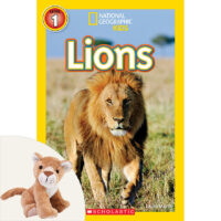 National Geographic Kids™: Lions Book Plus Plush