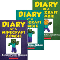 Diary of a Minecraft Zombie #7–#9 Pack