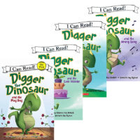 I Can Read with Digger the Dinosaur Pack