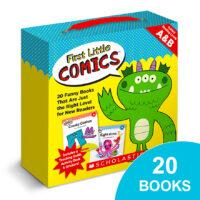 First Little Comics™ Box Set: Levels A & B