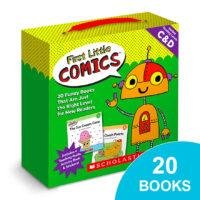First Little Comics™ Box Set: Levels C & D