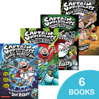 Captain Underpants #7-#12 Pack