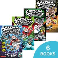 Captain Underpants #7-#12 Pack