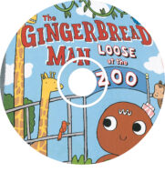 The Gingerbread Man Loose at the Zoo Audio CD