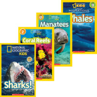 National Geographic Kids™ Ocean Animals 4-Pack