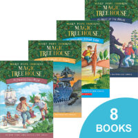 Magic Tree House® #1–#8 Pack