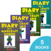 Diary of a Minecraft Zombie #1–#5 Pack