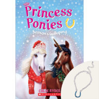 Princess Ponies Exclusive #4: Season's Galloping Book Plus Bracelet