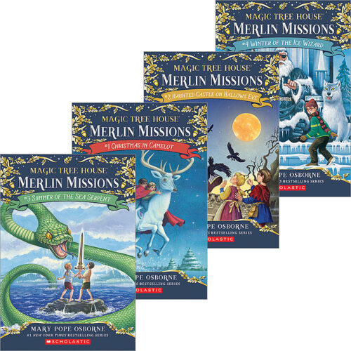 Merlin B Roblox Magic Tree House Merlin Missions Quest To Save Camelot 4 Pack