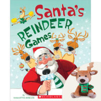 Santa's Reindeer Games Plus Plush