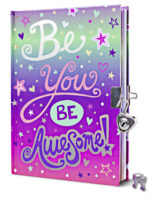 Be You, Be Awesome! Foil Diary