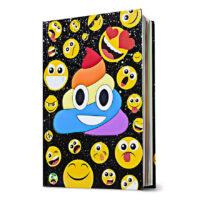 Rainbow Swirl Emoji Diary
