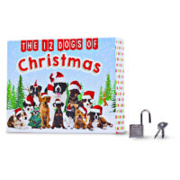 12 Dogs of Christmas Stationery