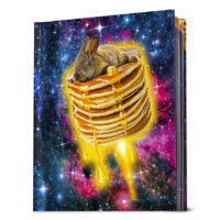 Bunny in Space Lenticular Journal