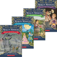 Magic Tree House® Merlin Missions #13–#16 Pack
