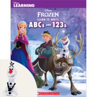 Disney Learning: Frozen Learn to Write ABCs and 123s Plus Eraser