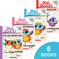 Owl Diaries #1–#6 Pack