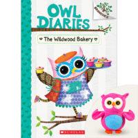 Owl Diaries #7: The Wildwood Bakery Book Plus Plush