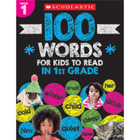 100 Words for Kids to Read in 1st Grade