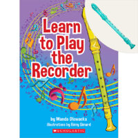 Learn to Play the Recorder Plus Recorder